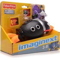 Dc Imaginext Super Friends Penguin Sub Submarino Pinguim