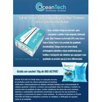 Sal Marinho Ocean Tech + Sachet Biológico Para Aquarios