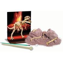 Brinquedo Científico Escavação De Esqueleto Tiranossauro Rex