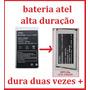 Bateria Atel Awp-l300 Smb299x Claro Serie Prata Alta Duração