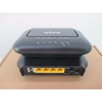 Modem Adsl Com Roteador Vivo Wifi 4 Portas. 300mbps