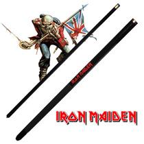 Taco De Sinuca Iron Maiden Desmontável Snooker Bilhar 10867