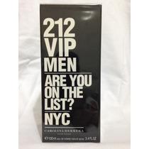 Perfume 212 Vip Men-carolin Herrera Super Promoção Aproveite