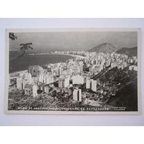 Cartão Postal Panorama De Copacabana Rio De Janeiro