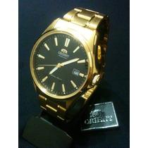 Relogio Masculino Orient Automatico Dourado Original.