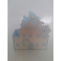 10 Caixa Bala Castelo Caixinha Frozen Vestido Cupcake Perola