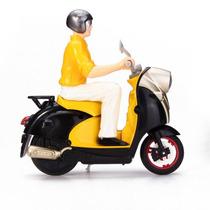 Mini Moto Controle Remoto Completa