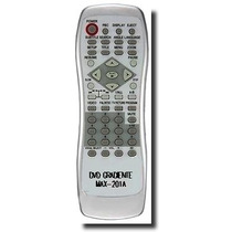 Controle Remoto Para Dvd Gradiente Modelo D-201 E Gbd 120