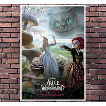 Poster Filme Alice No País Das Maravilhas - Tamanho 30x42cm