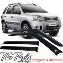 Calha Defletor De Chuva Ford Ecosport 03/11 - Tg Poli