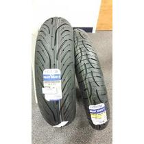 Pneus Road 4 Michelin 120+190/50 Zx10r Z1000 R1 F4 Zx14 Fzr