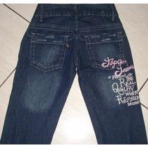 Calça Jeans Fem.marca Topecore Tam.38 C/ Strech Semi Nova