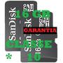 Cartão Memória Micro Sd 16gb Microsd 16g Smartphone Iphone