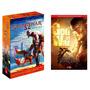 Kit Box God Of War + O Guia Definitivo Da Série (3 Livros) #