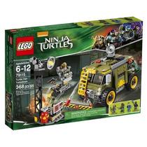 Lego Tartarugas Ninjas #79115 Turtle Van Takedown
