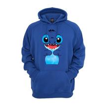 Blusa Casaco De Moletom Lilo Stitch Com Capuz