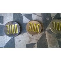 Emblema Pickup Chevrlet Brasil 3100