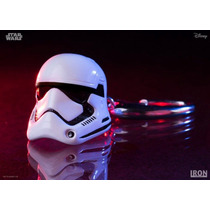 Star Wars Stormtrooper First Order Iron Studios Chaveiro