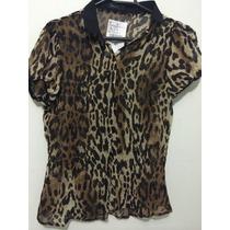 Blusa Camisa Zara Feminina Modelo Europeu