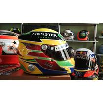 Capacete F1 Arai Gp-6 Lewis Hamilton Mercedes 2013