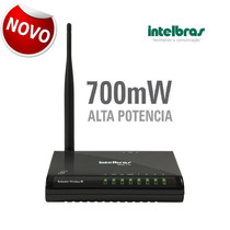 § Roteador Intelbras Win240 Wireless 150mbps 500mw 27dbm