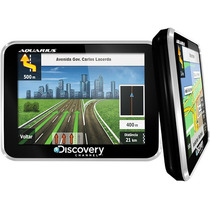 Super Gps Automotivo Discovery 3,5 Ultra Slim Hard Leilão
