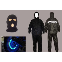 Kit Moto Bike Capa Chuva + Tunning + Touca