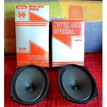 Alto Falante Som Novik Nv 50 - 1981 Novo Nunca Usado (o Par)
