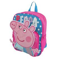 Mochila Infantil Peppa Pig Pronta Entrega No Brasil!