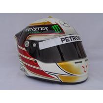 Capacete F1 Arai Gp-6 Lewis Hamilton Mercedes 2014
