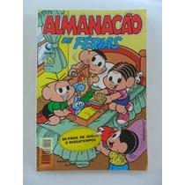 Almanacão De Férias Turma Da Mônica Nº 20! Globo Dez 1996!