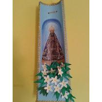 Telha Decorada Com Nossa Senhora Aparecida