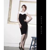 Vestido Básico Cor Preto