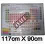 Mapa Tabela Periódica Dos Elementos Químicos 117cm X 90cm!