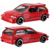 1990 Honda Civic Ef - Hot Wheels - 2014 Hw City - Night Burn