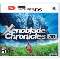 Xenoblade Chronicles 3d - New Nintendo 3ds - Pronta Entrega