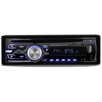 Toca Cd Dazz 6520 Mp3 Usb Radio Am Fm Sd Rca Controle Som