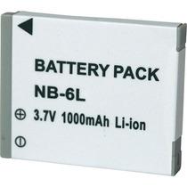 Bateria Nb-6l P Câmera Canon Digital Ixus 85 Is, 25is, Sx500