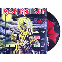 Lp - Vinil - Picture Disc - Iron Maiden - Killers - Lacrado