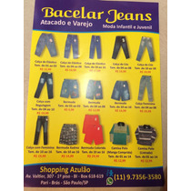 Bacelar Jeans Infantil E Juvenil