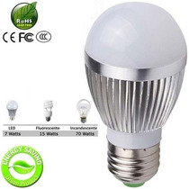 Lampadas Led Residencial Preço 7 Wats Branco Frio Bi-volt