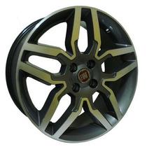 Roda Aro 17 Fiat Idea Sport - Grafite Diamantado - 4x98