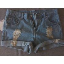 Short Desfiado M Shortinho Classic Jeans