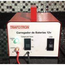Carregador De Baterias 12v Carro E Moto 100a