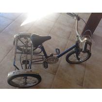 Bicicleta Berlineta Triciclo Caloi Antiga Infantil