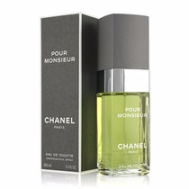 Perfume Chanel Pour Monsieur Chanel Eau Toilette Masc. 100ml