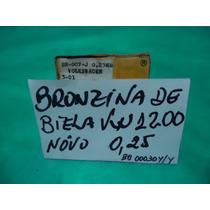 Vw Jogo De Bronzinas De Biela Vw 1200 0,25 Metal Leve Okm.