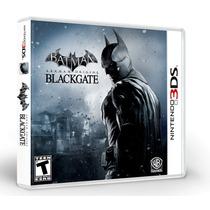 Batman Arkham Origins Blackgate 3ds Lacrado.