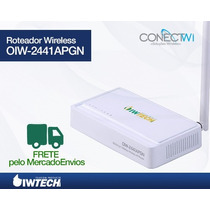Roteador Ap Router Wireless 2441apgn 150mb B/g/n Antena 5dbi
