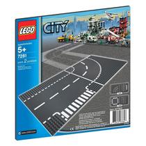 Brinquedo Novo Lego City Entroncamento E Curva 7281